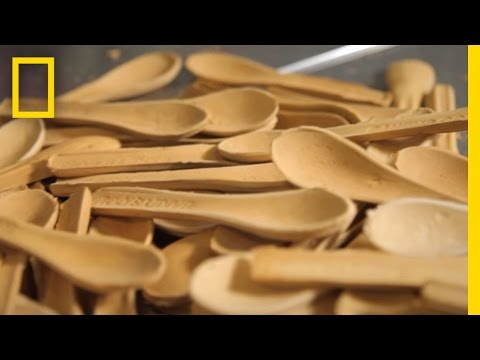 A Spoon You Can Eat Is a Tasty Alternative to Plastic Waste Short Film Showcase