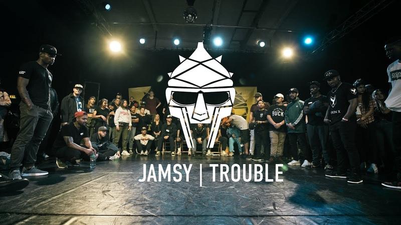 Jamsy vs Trouble Krump Semifinal Giants 2018