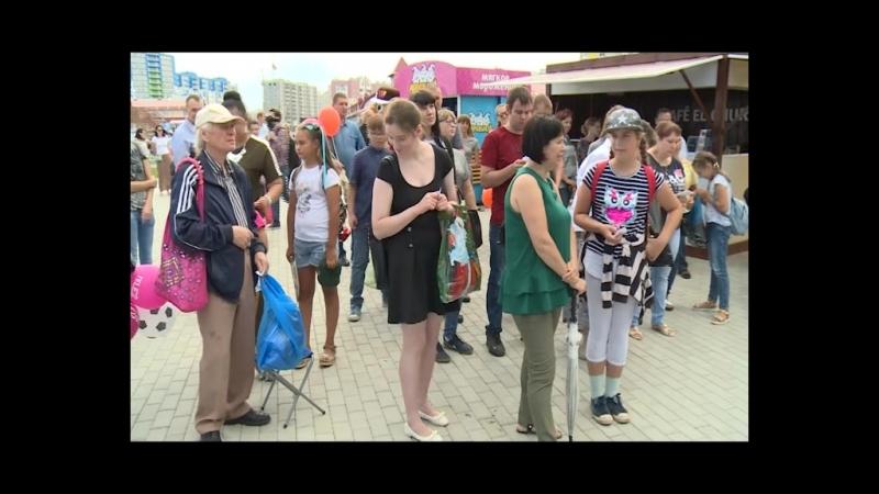 Журнал Телесемь и партнеры приняли участие в праздновании Дня рождения колеса обозрения.