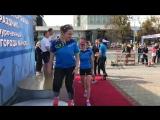 День города в Минске. Награждение победителей и призеров эстафетной гонка на лыжероллерах и роликовых коньках