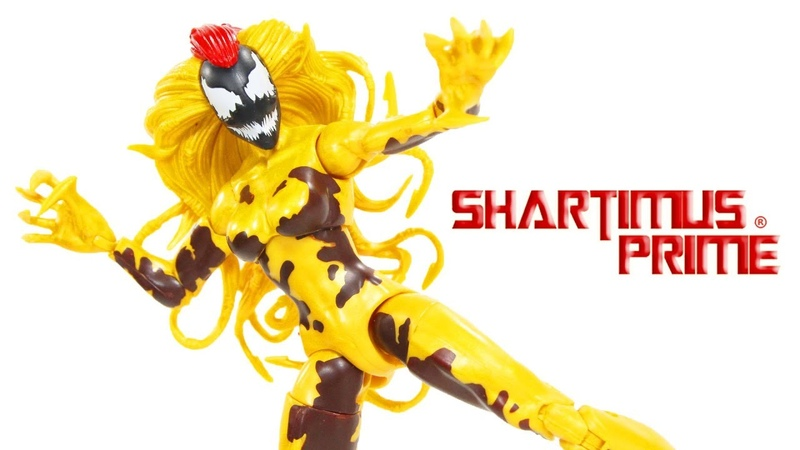 Marvel Legends Scream Monster Venom BAF Wave Marvel Hasbro Action Figure Toy Review