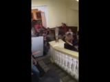 Дымовая шашка в Харьковской мэрии