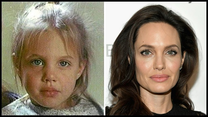 Анджелина Джоли в детстве и сейчас Как выглядит Angelina Jolie Pitt в 2018 году Тогда и сейчас