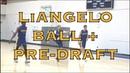 LiAngelo Ball Nuni Omot Nana Foulland Daxter Miles Tai Odiase Duncan Robinson pre Draft warmup