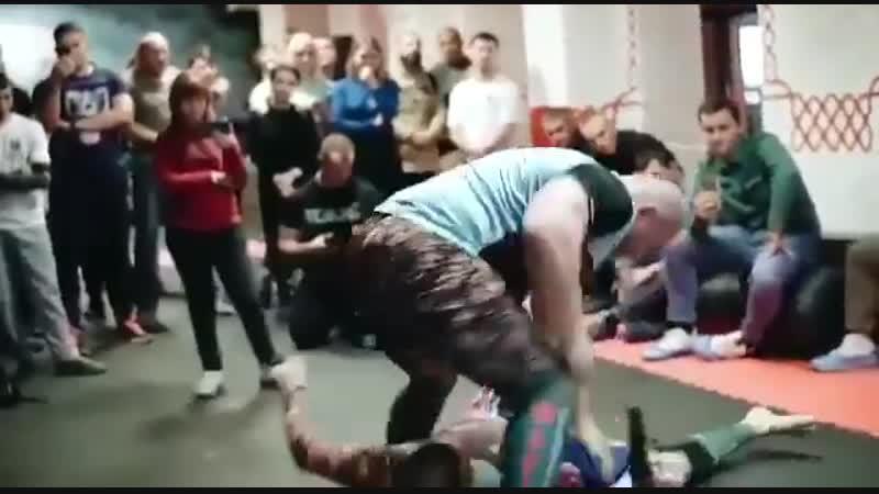 Открытие Бойцовского Клуба Шатун на Большой Семеновской 24.10.2018