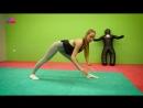 Валентина Зорина (Россия) - красивая фитнес-бикини модель и гимнастка. Прокачка и растяжка ног. Рекомендую!