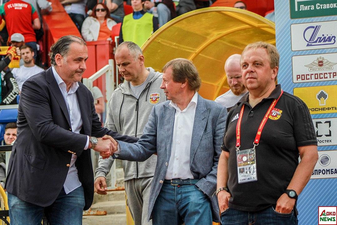 Божович и Сёмин. Фото: Дмитрий Бурдонов / Loko.News