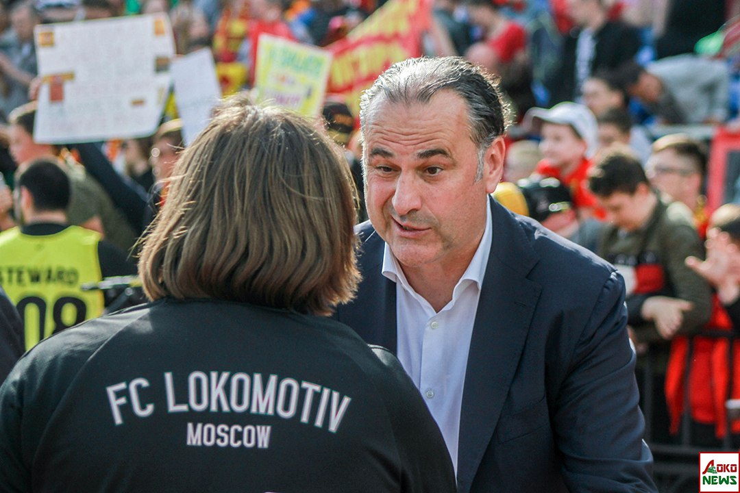 Лоськов и Божович. Фото: Дмитрий Бурдонов / Loko.News