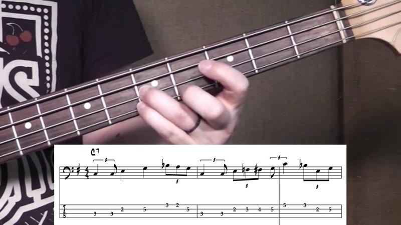 Blues Bass - Slow Blues Lick A