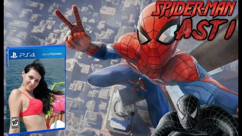Marvels Spider Man 10 Платина Финал (PS4 PRO)