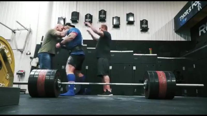 Hafþór Júlíus Björnsson Становая тяга 455 кг / 1003 фунтов