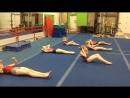 бежимсомной - Как качают пресс гимнастки