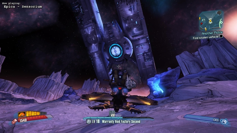 Shugguraths Flying Away! [Borderlands: The Pre-Sequel]