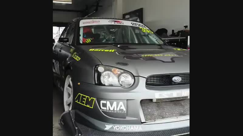 Race Subaru Impreza WRX STI
