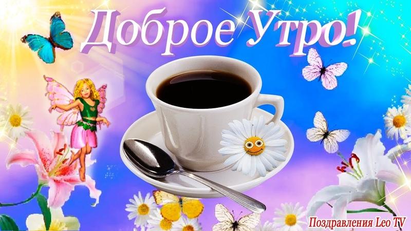 Доброе утро! Позитивное, красивое пожелание С Добрым утром! Солнца в сердце! Leo TV