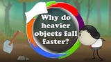 Why do heavier objects fall faster It's AumSum Time