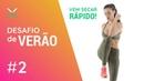 TREINO PARA BARRIGA SARADA [Aula 2] Fitness Game Desafio de Verão