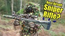 Invisible Ghillie Airsofter With Best Airsoft Sniper Silverback SRS