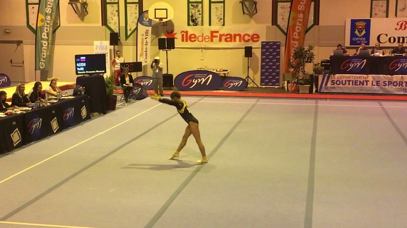 AUDI Nelli - Junior - Combs La Ville 2018 Floor Finals