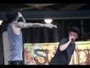 Suicide Silence feat. Phil Bozeman of Whitechapel - No Pity For A Coward (live Cincinnati,Ohio 7/28/10)