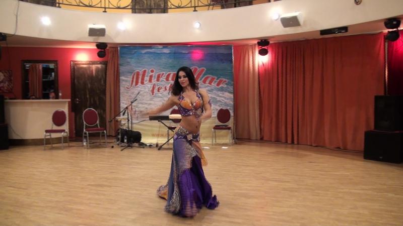 Sharipova Marina professional oriental classic, III MIRAMAR festival 2017