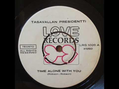 Tasavallan Presidentti – Time Alone With You ( 1969, Jazz-Rock, Finland )