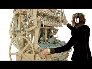 Парень-гений построил музыкальную машину [HD 720] (#DH)