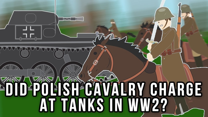Did Polish Cavalry charge at Tanks in WWII
