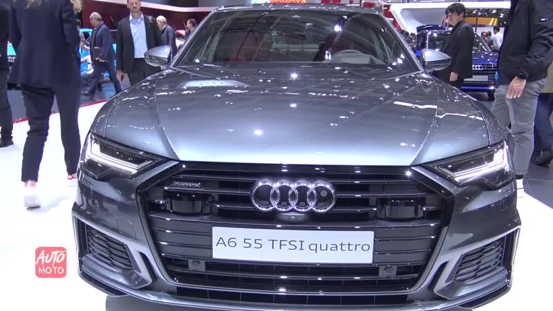 2019 Audi A6 55 TFSI Quattro - Exterior And interior Walkaround - 2018 Paris Motor Show