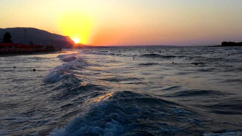 Остров Крит. Пляж. Малия.