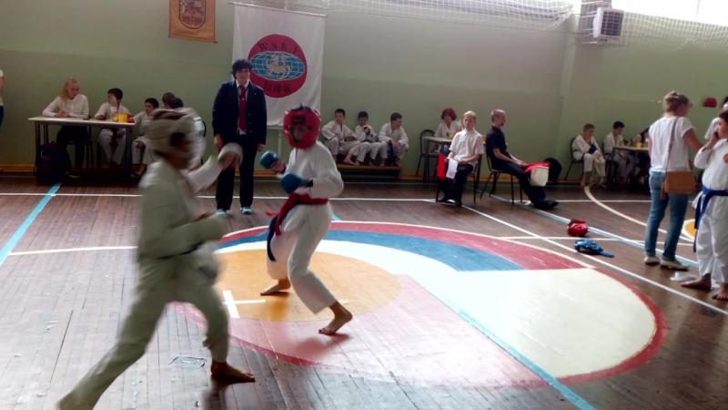 Открытый турнир Центра Воинского Искусства Берсерк по каратэ Шотокан