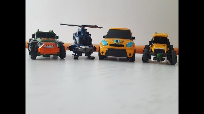 Развивающие мультики для детей. Learn And Play Together With Tobots. Тоботы X,Y,T,K.