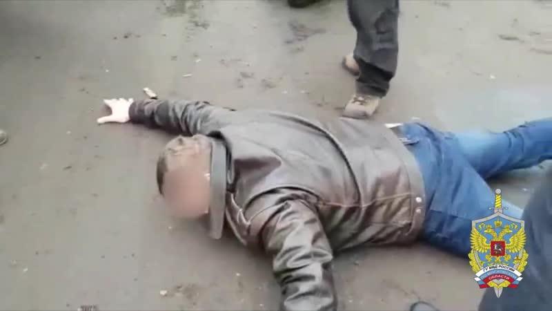 Подмосковными оперативниками за хранение наркотиков задержан лидер преступной ср