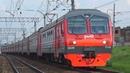 Электропоезд ЭД4М-0144 с рейсом Черусти - Москва Казанская