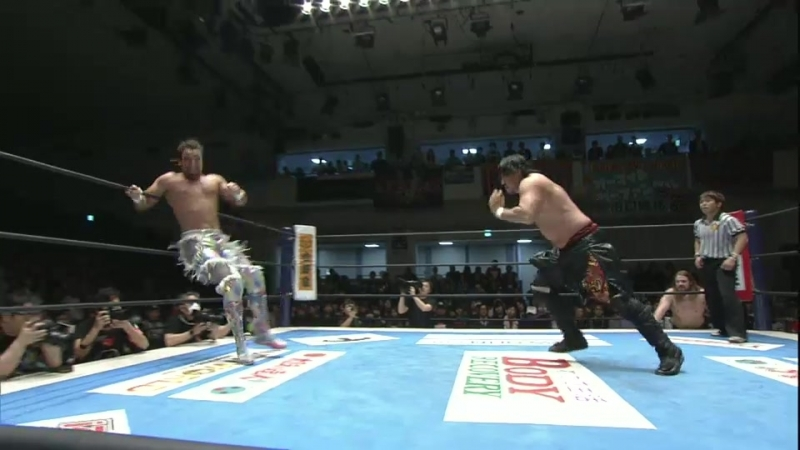 Juice Robinson, David Finlay Jr., Toa Henare vs. Hirooki Goto, Jay White, Tomohiro Ishii (NJPW - Road to Sakura Genesis 2018)