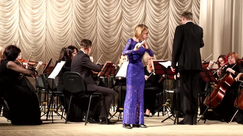 Шевнина Полина Андреевна - К. Стамиц Концерт для флейты с оркестром I часть Gdur соч. 29