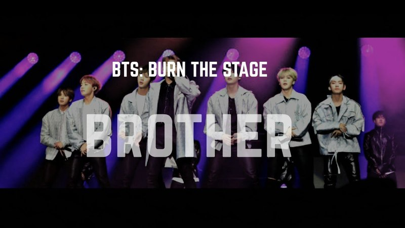 BTS: BURN THE STAGE | BROTHER fmv