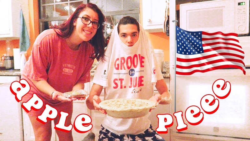 🇺🇸 my wife and i make pie for the kids 🇺🇸