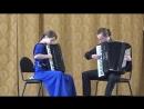 А. Вивальди - И. С. Бах Концерт d-moll 1, 2 часть. Исполняет дуэт аккордеонистов Аллегория в составе Ольга Логинова и Андрей