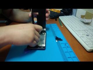 Замена дисплейного модуля на Nokia 6. Выполнено PRO100 Сервис в Бологое
