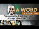 Programming Black America to Accept Homosexuality