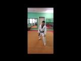 Taekwondo WTF. Стойка Ап Куби