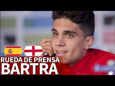 España - Inglaterra | Rueda de prensa previa de Bartra | Diario AS