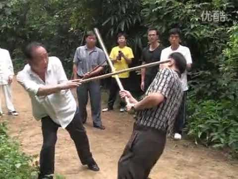 The technique of a whipping stick