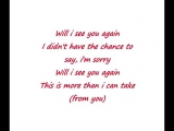 E-Type - Will I See You Again (with lyrics)