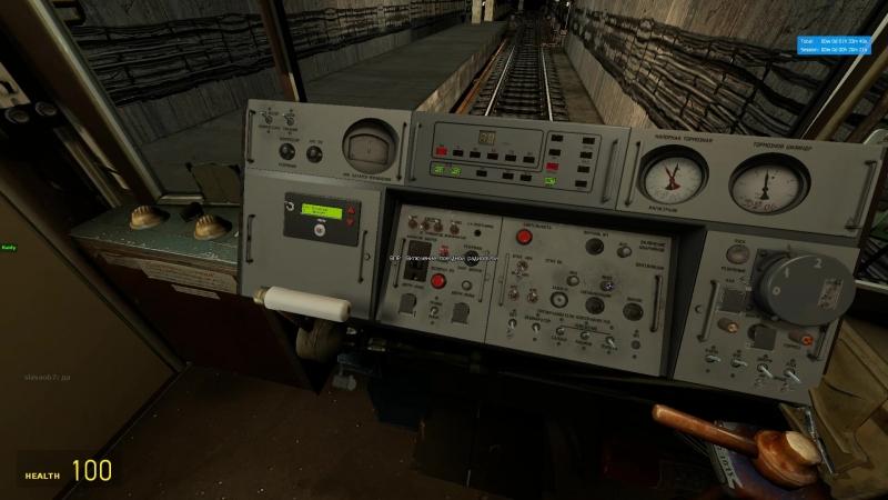 Metrostroi-поездка по crimson