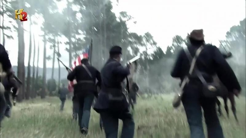 History Channel Кровь и слава Гражданская война в США в цвете Наследие войны