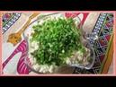 Салат из крабового мяса и киви