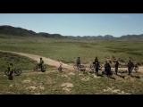 Almaty Boguti mountains bike adventure Part 1 The trail road to Boguti DJI Mavic drone video