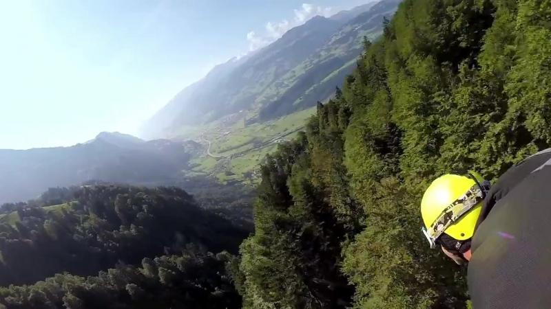 GoPro- Majestic Wingsuit Flight in Switzerland